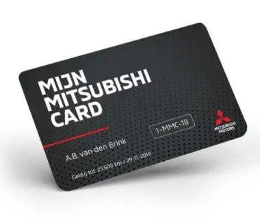 De Mijn Mitsubishi Card